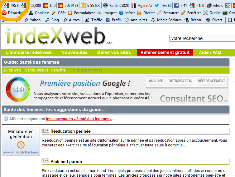 pagerank-annuaire-indexweb-image